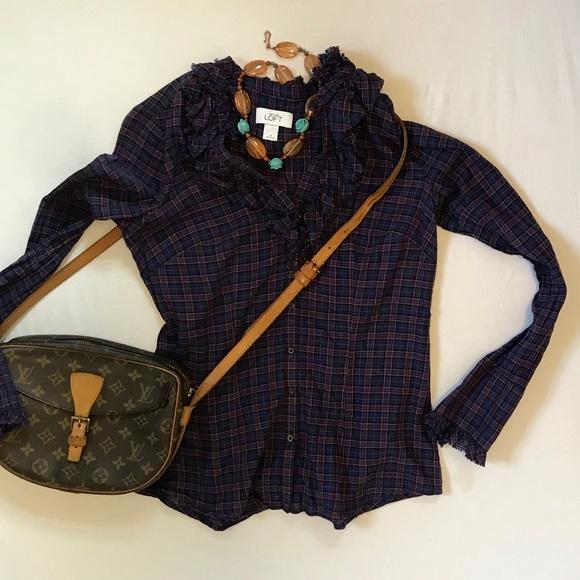 742f2fb7 Ann Taylor Tops - Cotton flannel from Ann Taylor Loft